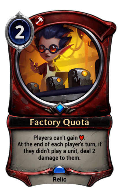 Card image for Factory Quota