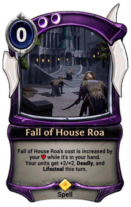 Card image for Fall of House Roa