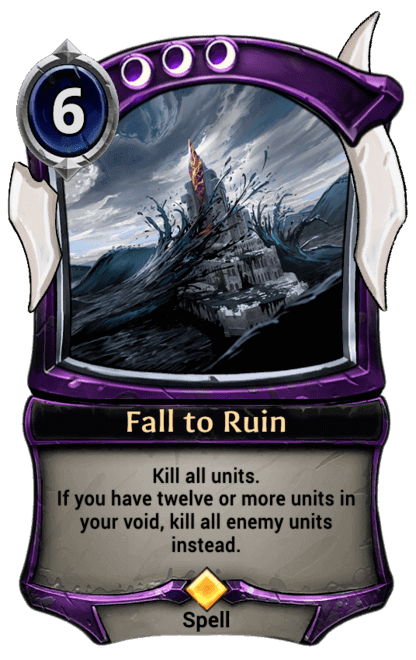 Card image for Fall to Ruin