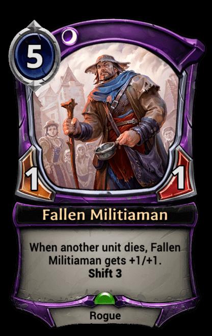 Card image for Fallen Militiaman