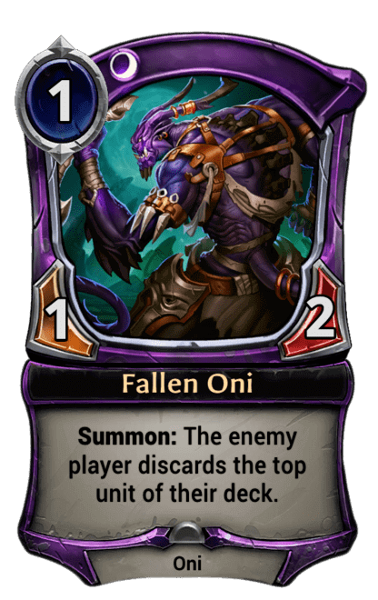 Card image for Fallen Oni