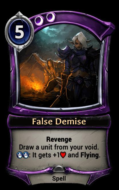 Card image for False Demise