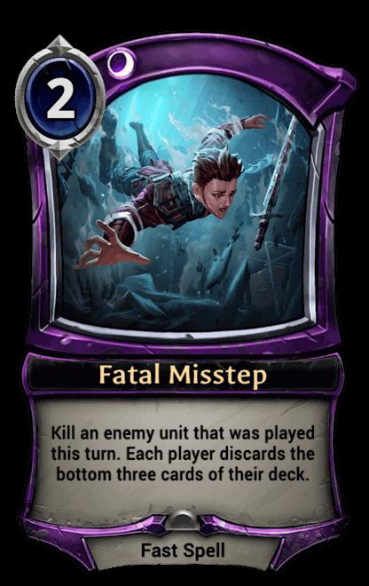 Card image for Fatal Misstep