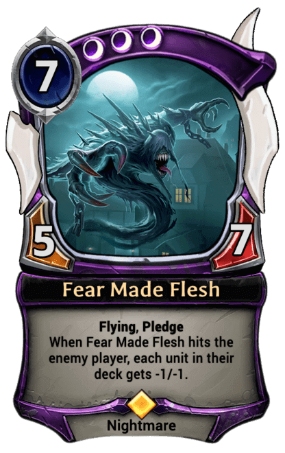 Card image for Fear Made Flesh