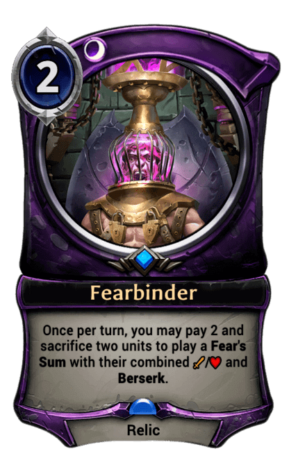 Card image for Fearbinder
