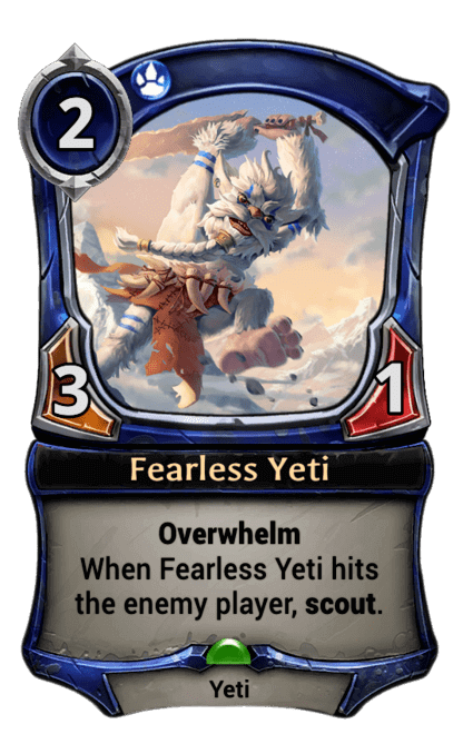 Card image for Fearless Yeti