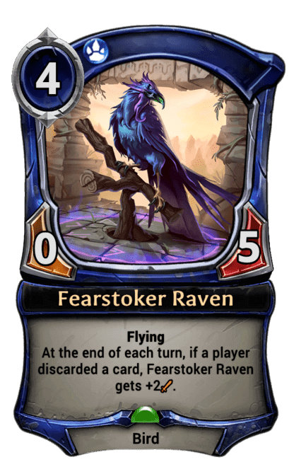 Card image for Fearstoker Raven