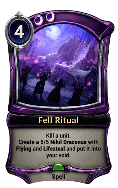 Card image for Fell Ritual