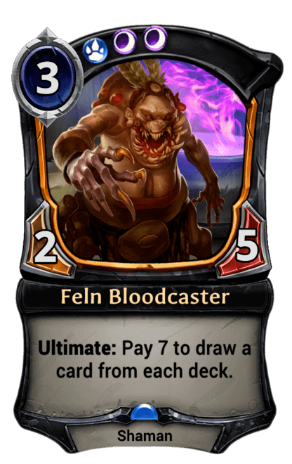Card image for Feln Bloodcaster