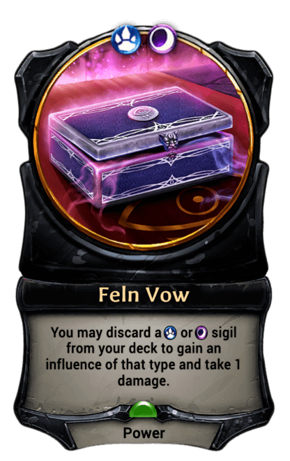 Card image for Feln Vow