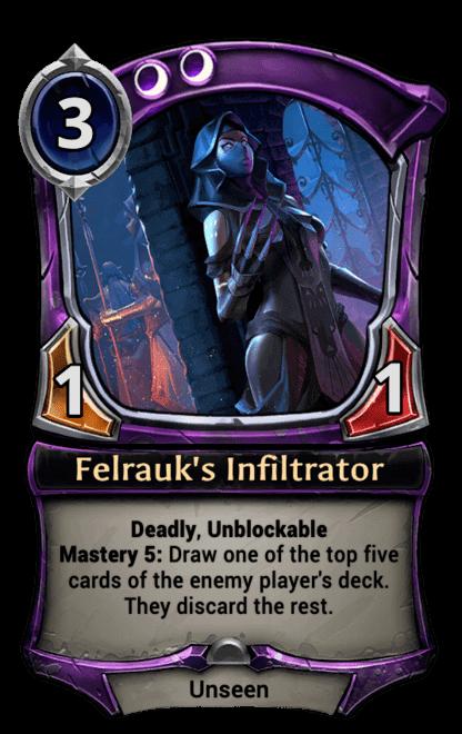Card image for Felrauk's Infiltrator
