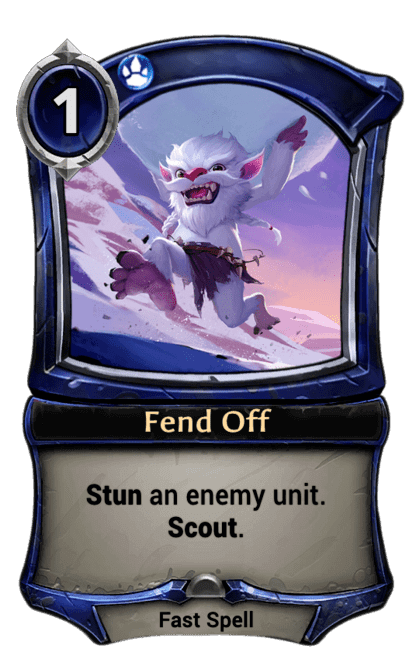Card image for Fend Off