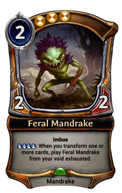 Card image for Feral Mandrake