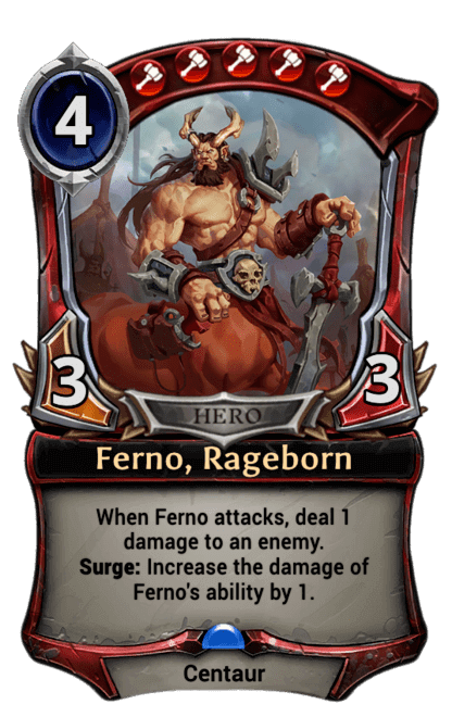 Card image for Ferno, Rageborn
