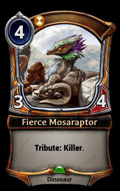 Card image for Fierce Mosaraptor