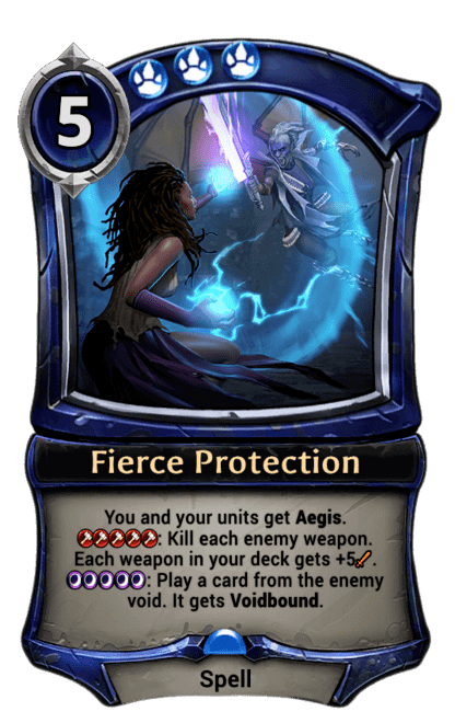 Card image for Fierce Protection
