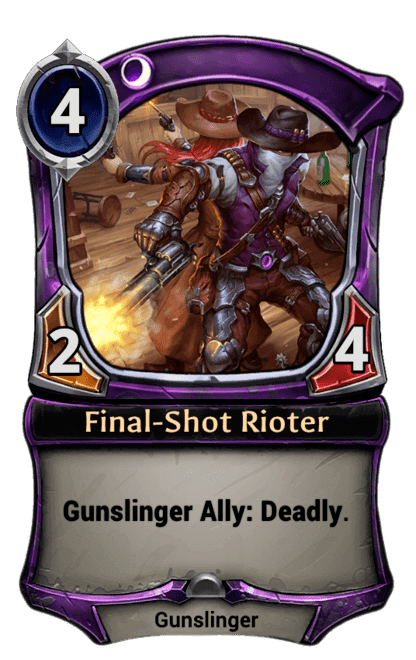 Card image for Final-Shot Rioter