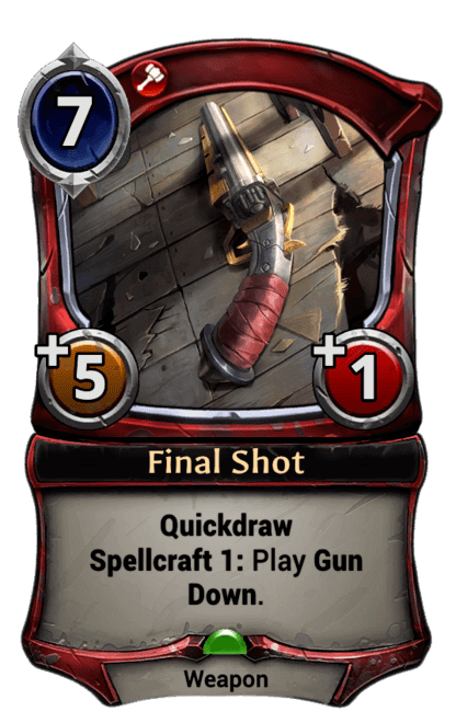 Card image for Final Shot