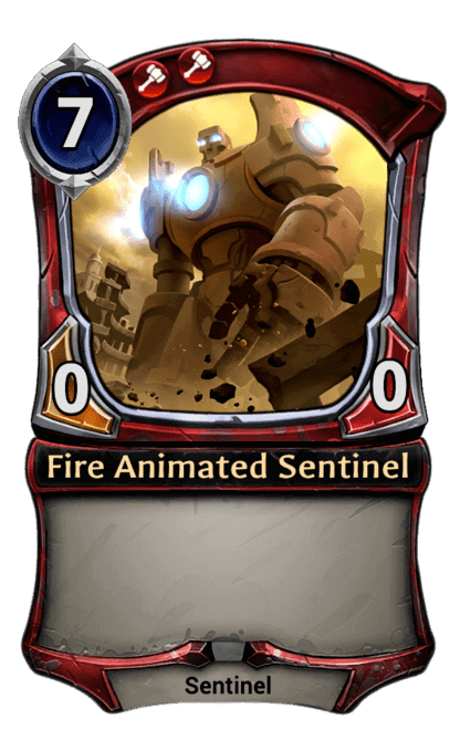 Card image for Fire Animated Sentinel