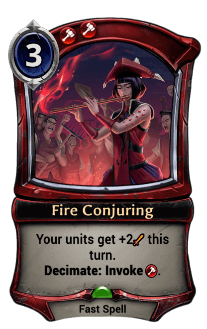 Card image for Fire Conjuring
