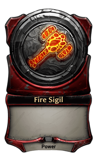 Card image for Fire Sigil