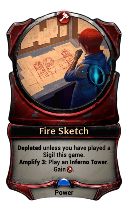 Card image for Fire Sketch