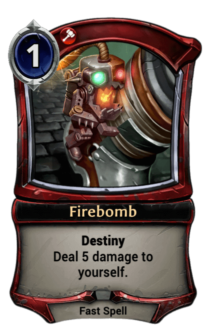 Card image for Firebomb