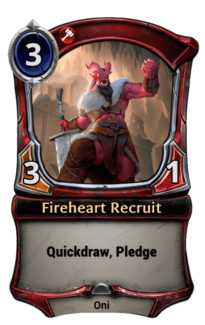 Card image for Fireheart Recruit