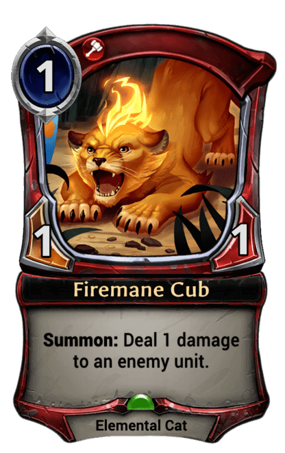 Card image for Firemane Cub