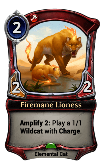Card image for Firemane Lioness