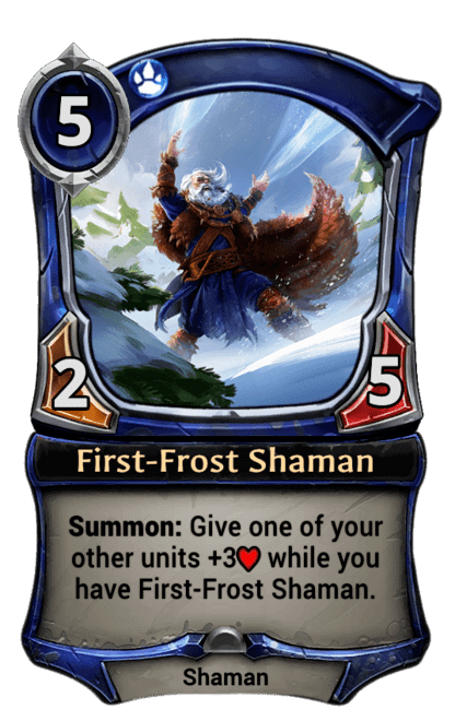 Card image for First-Frost Shaman