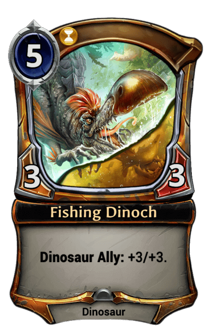 Card image for Fishing Dinoch