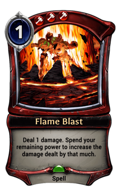 Card image for Flame Blast
