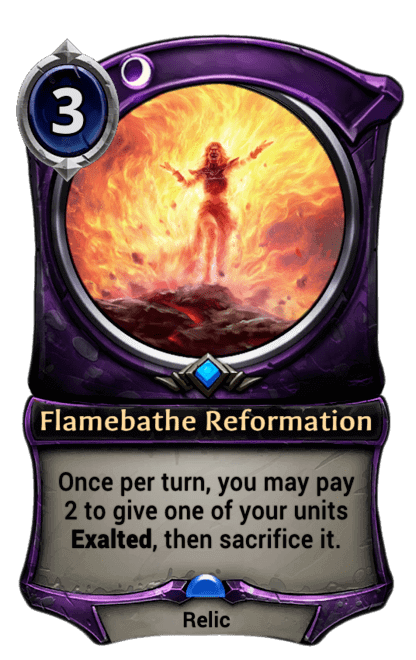 Card image for Flamebathe Reformation