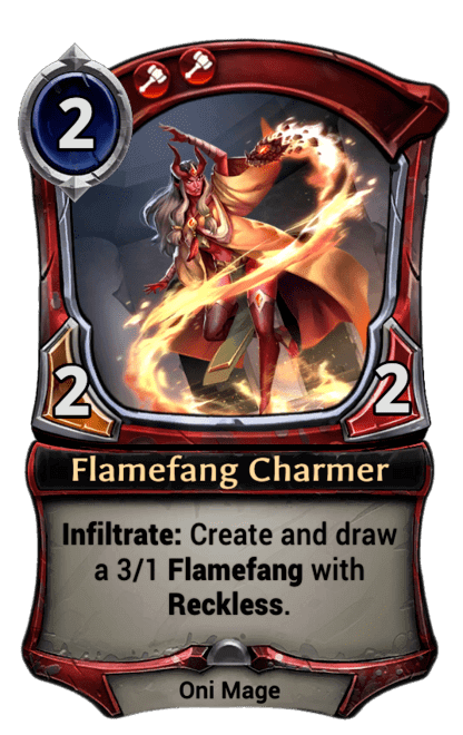 Card image for Flamefang Charmer