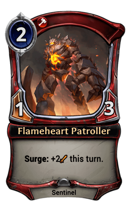 Card image for Flameheart Patroller