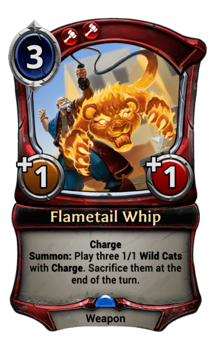 Card image for Flametail Whip