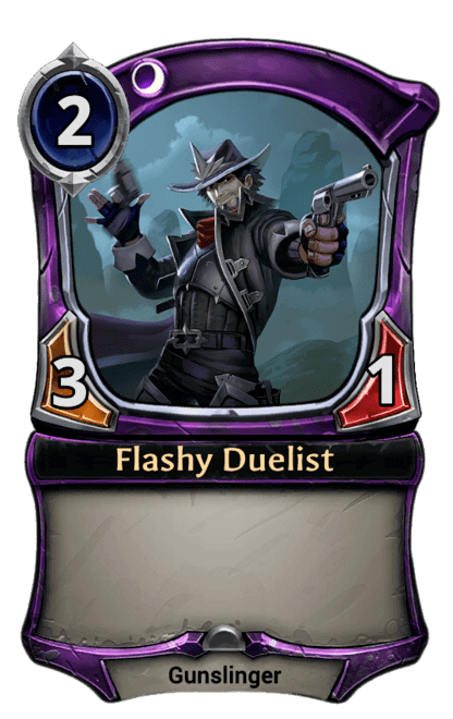 Card image for Flashy Duelist