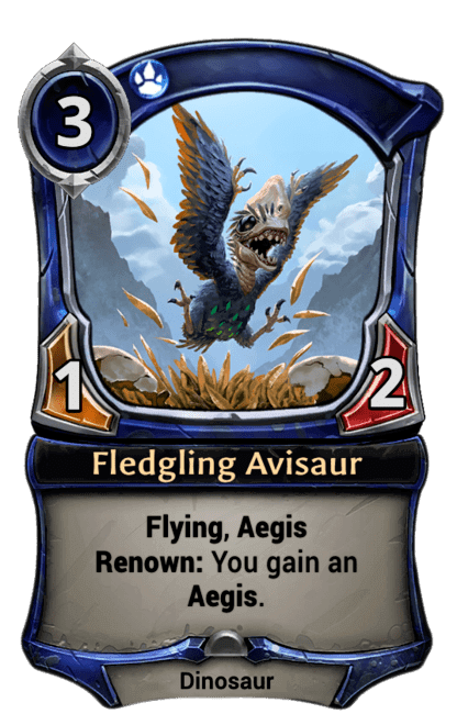 Card image for Fledgling Avisaur