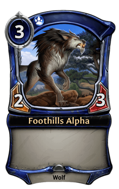 Card image for Foothills Alpha