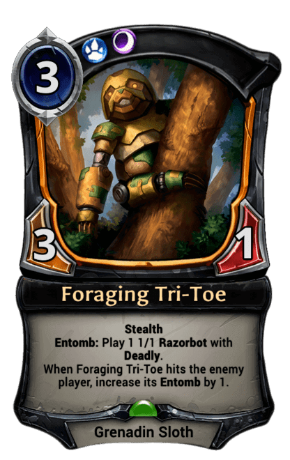 Card image for Foraging Tri-Toe