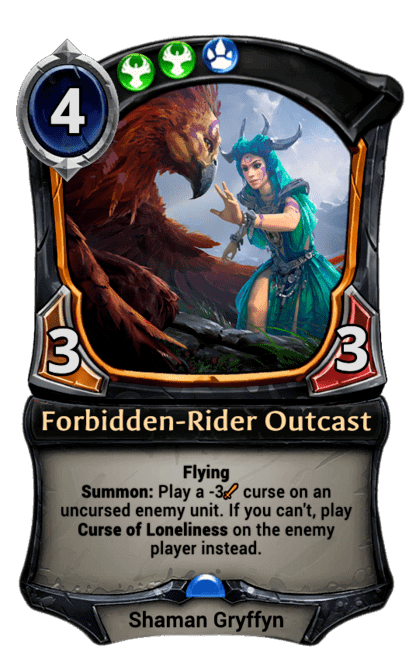 Card image for Forbidden-Rider Outcast