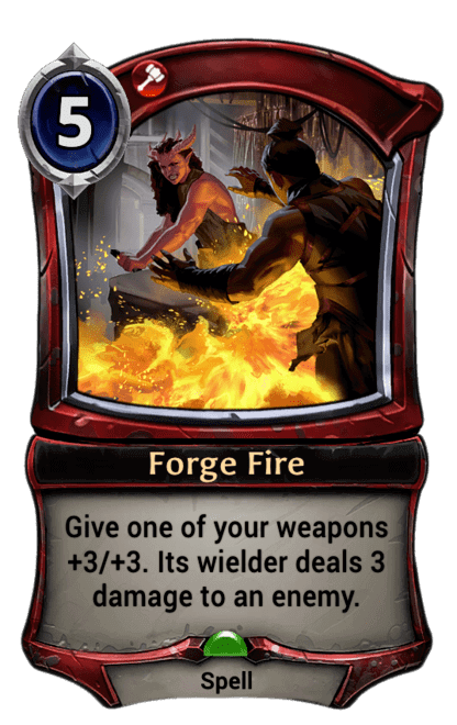 Card image for Forge Fire