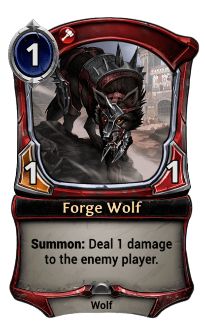 Card image for Forge Wolf