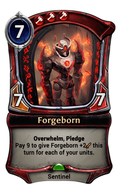 Card image for Forgeborn