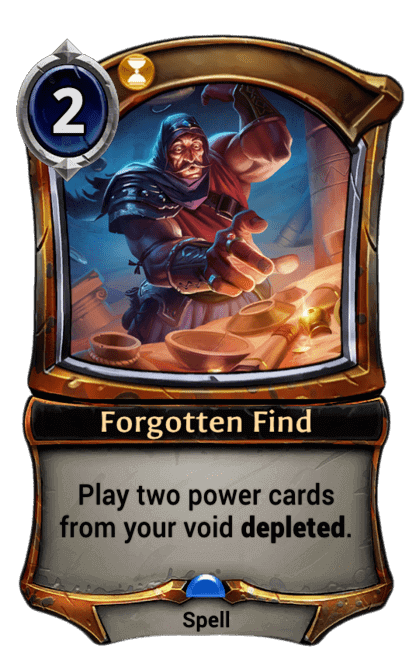 Card image for Forgotten Find