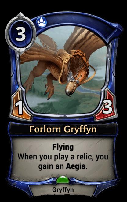 Card image for Forlorn Gryffyn