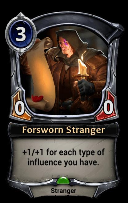 Card image for Forsworn Stranger