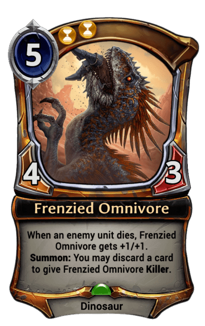 Card image for Frenzied Omnivore