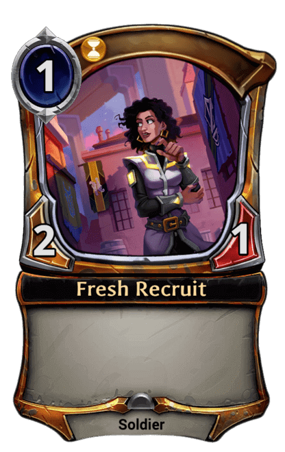 Card image for Fresh Recruit